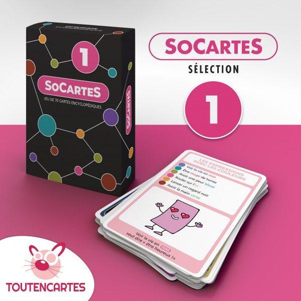 SoCartes est un jeu de société pour les enfants