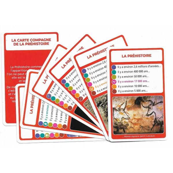SoCartes- jeu de carte-La préhistoire