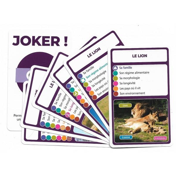 SoCartes est un jeu de société pour les enfants - Le lion