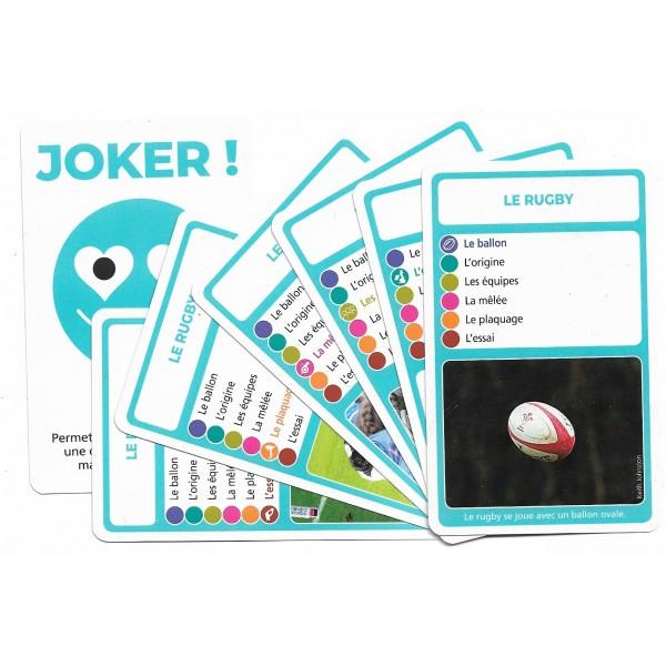 SoCartes est un jeu de société pour les enfants - Le rugby