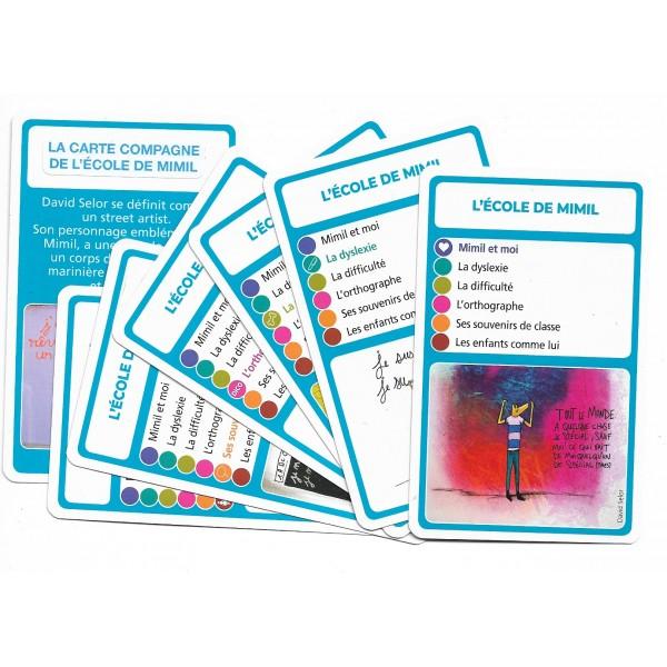 SoCartes est un jeu de société pour les enfants - L'école de Mimil