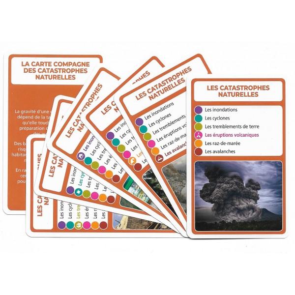 SoCartes est un jeu de société pour les enfants - Les catastrophes naturelles