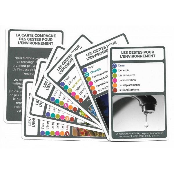 SoCartes est un jeu de société pour les enfants - Les gestes pour l'environnement