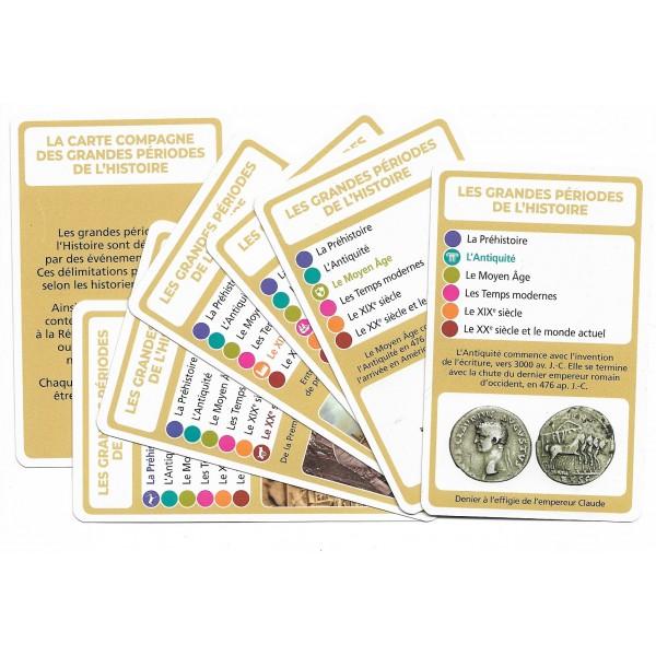 SoCartes- est un jeu de société-Les grandes périodes de l'Histoire