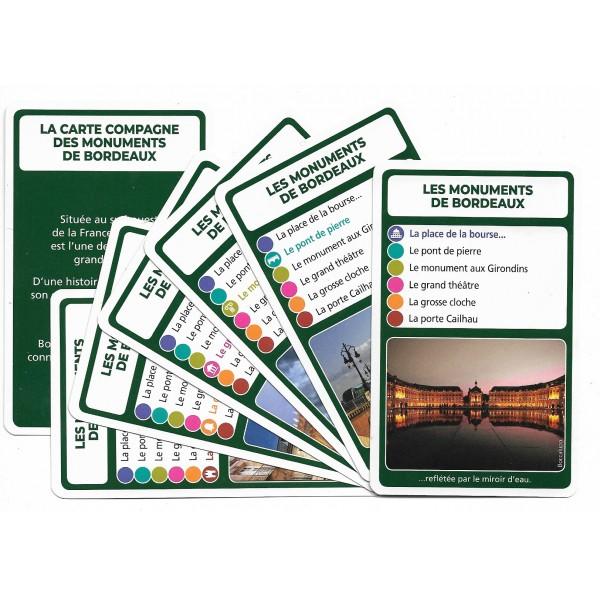 SoCartes est un jeu de société pour les enfants - Les monuments de Bordeaux