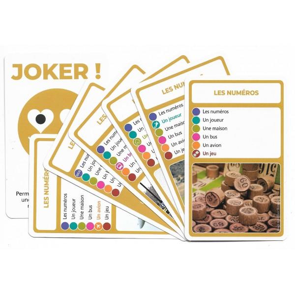 SoCartes est un jeu de société pour les enfants - Les numéros