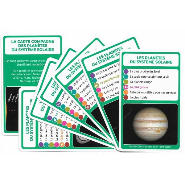 Les planètes du système solaire - SoCartes est un jeu de société pour les enfants