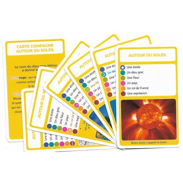 SoCartes est un jeu de société pour les enfants - Autour du Soleil