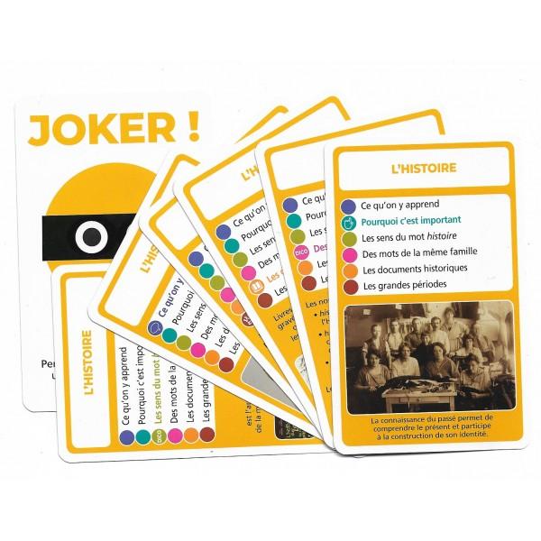 SoCartes est un jeu de société pour les enfants - L'Histoire