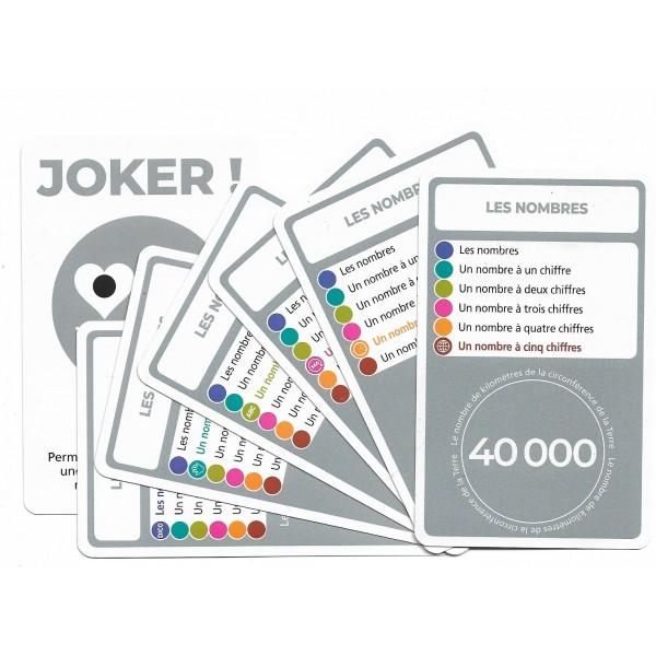 SoCartes est un jeu de société pour les enfants - Les nombres