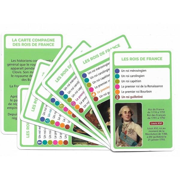 SoCartes est un jeu de société pour les enfants - Les rois de France