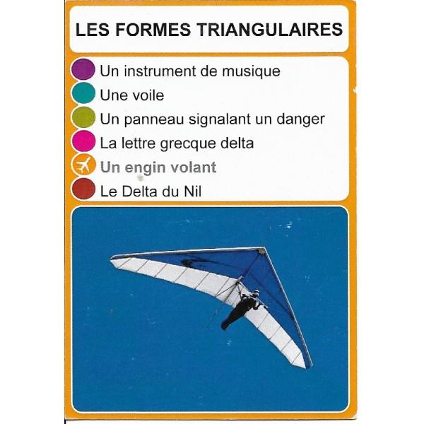 Les formes triangulaires1 - DIY - SoCartes est un jeu de société pour les enfants