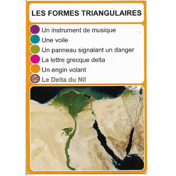 Les formes triangulaires2 - DIY - SoCartes est un jeu de société pour les enfants