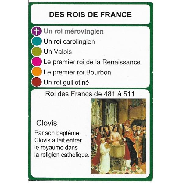 Les rois de France1 - DIY - SoCartes est un jeu de société pour les enfants