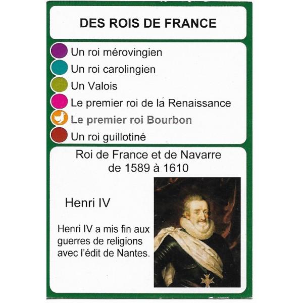 Les rois de France2 - DIY - SoCartes est un jeu de société pour les enfants