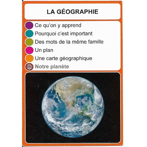 La géographie2 - DIY - SoCartes est un jeu de société pour les enfants