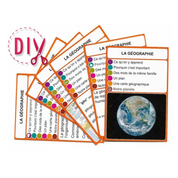 La géographie - DIY - SoCartes est un jeu de société pour les enfants
