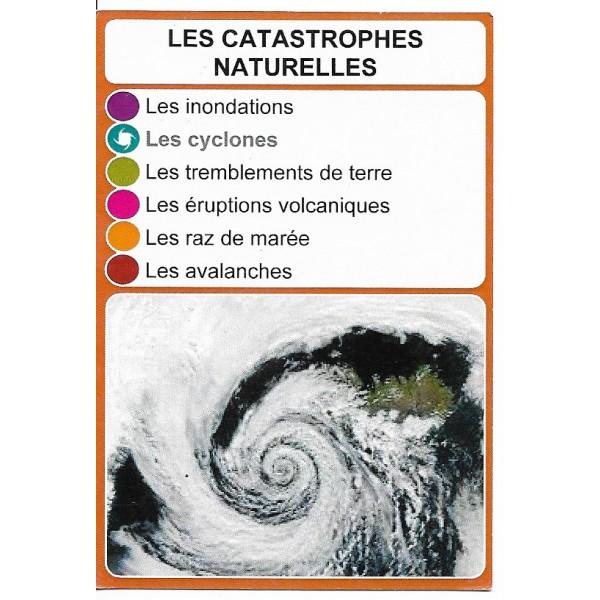 Les catastrophes naturelles1 - DIY - SoCartes est un jeu de société pour les enfants