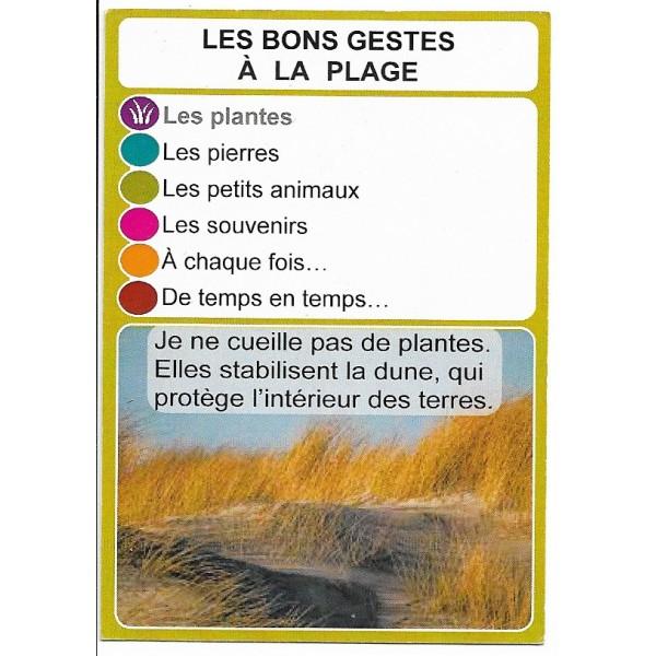 Les bons gestes à la plage2 - DIY - SoCartes est un jeu de société pour les enfants