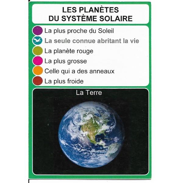 Les planètes du système solaire1- DIY - SoCartes est un jeu de société pour les enfants