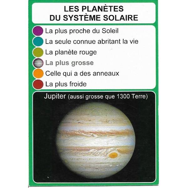 Les planètes du système solaire2- DIY - SoCartes est un jeu de société pour les enfants