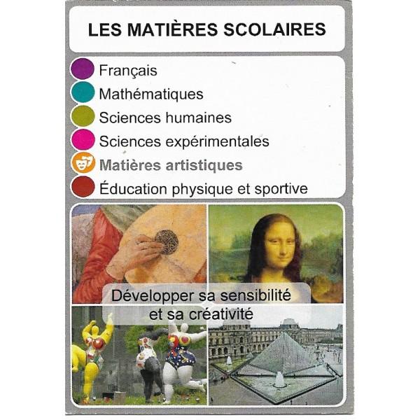 Les matières scolaires1- DIY - SoCartes est un jeu de société pour les enfants