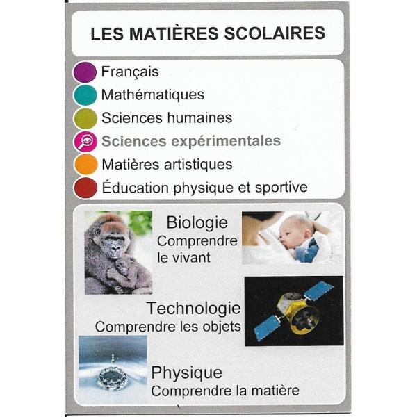 Les matières scolaires2- DIY - SoCartes est un jeu de société pour les enfants
