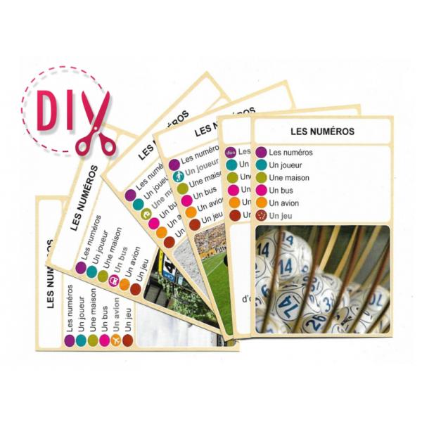 Les numéros- DIY - SoCartes est un jeu de société pour les enfants