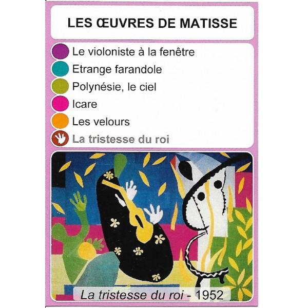 Les œuvres de Matisse2- DIY - SoCartes est un jeu de société pour les enfants