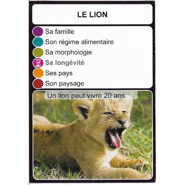 Le lion1- DIY - SoCartes est un jeu de société pour les enfants
