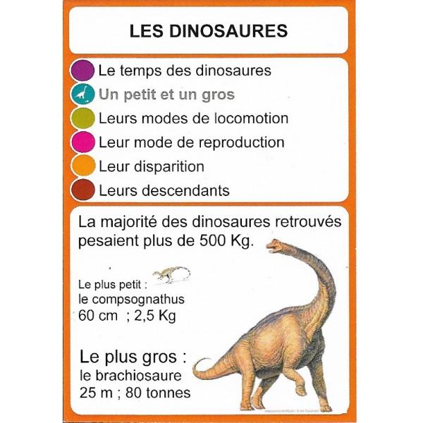 Les dinosaures2- DIY - SoCartes est un jeu de société pour les enfants
