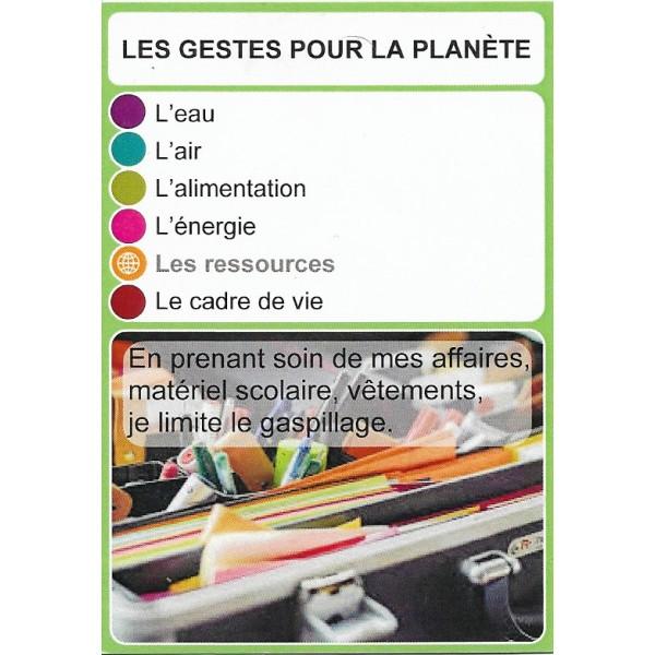 Les gestes pour la planète1- DIY - SoCartes est un jeu de société pour les enfants