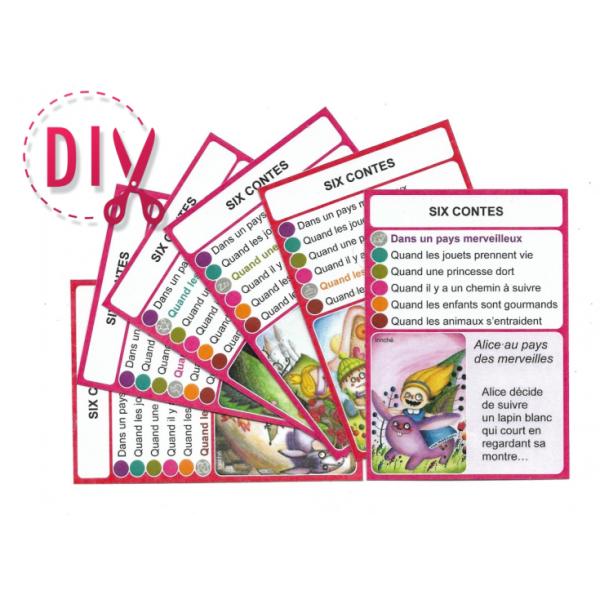 Les contes- DIY - SoCartes est un jeu de société pour les enfants