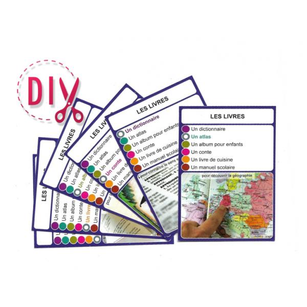 Les livres- DIY - SoCartes est un jeu de société pour les enfants