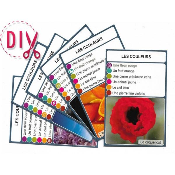 Les couleurs- DIY - SoCartes est un jeu de société pour les enfants