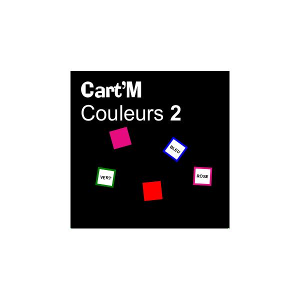 Cart'M Couleurs 2-2 DIY - SoCartes est un jeu de société pour les enfants