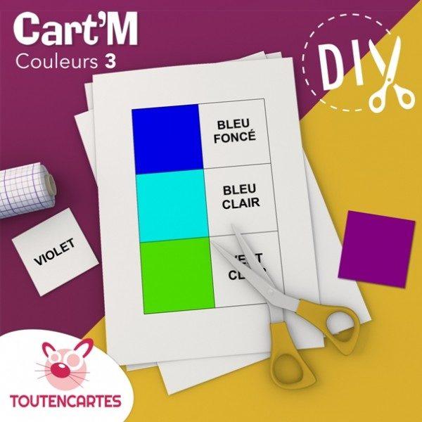 Cart'M Couleurs 3 -DIY - SoCartes est un jeu de société pour les enfants
