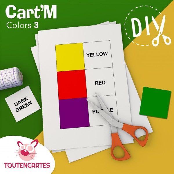 Cart'M Colors 3-DIY - SoCartes est un jeu de société pour les enfants