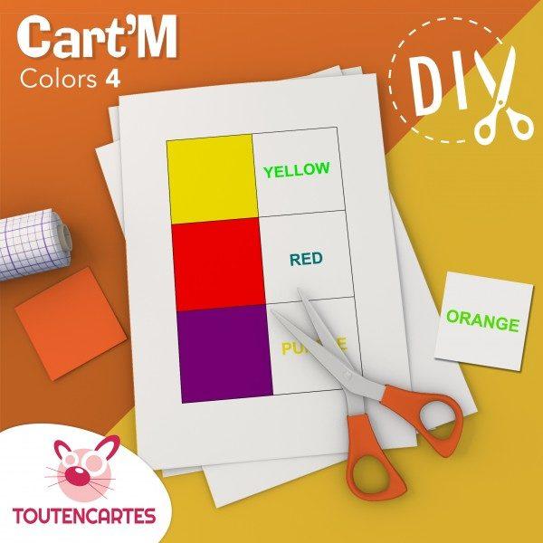 Cart'M Colors 4-DIY - SoCartes est un jeu de société pour les enfants