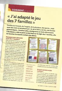 Presse Toutencartes-Magazine La Classe élémentaire
